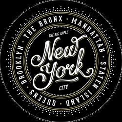 Classy New York Badge Sticker