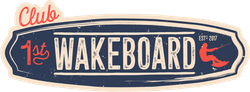 Club Wakeboard Board Sticker
