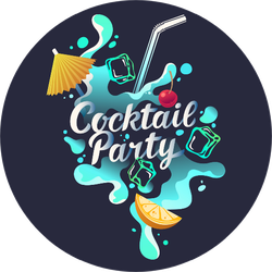 Cocktail Party Sticker