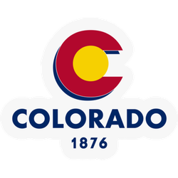 Colorado 1876 Sticker