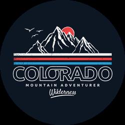 Colorado Mountain Adventure Wilderness Sticker