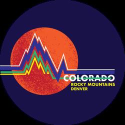 Colorado Rocky Mountains Denver Sticker