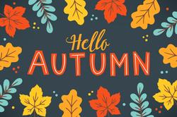 Colorful Autumn Fall Sticker