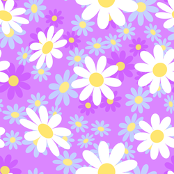 Colorful Chamomile Flowers Sticker