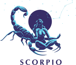 Constellation Of The Scorpion Sticker