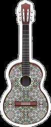 Cool Decorative Guitar Sticker
