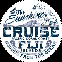 Coral Coast Fiji Sticker