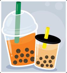 Couple Bubble Sticker