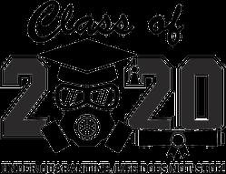 Covid Class of 2020 Graduation Sticker