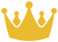 Crown Icon Sticker