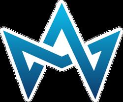 Crown Logo Sticker