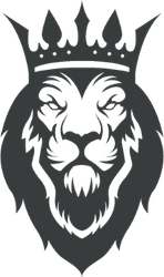 Crowned Lion Sticker