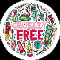 Cruelty Free Makeup Sticker