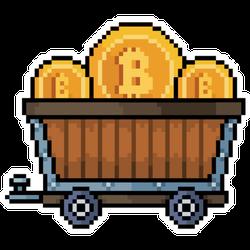 Cryptocurrency Mining Sticker