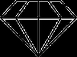 Crystal Diamond Sticker