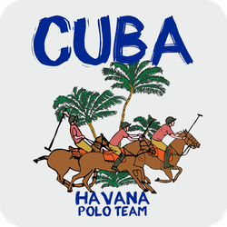 Cuba Havana Polo Team Sticker