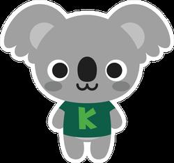Cute Happy Koala Sticker