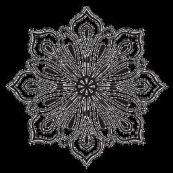 Cute Mandala Tattoo Sticker