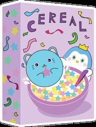 Cute Purple Cereal Box Illustration Sticker