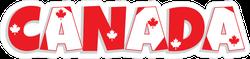 Decorative Lettering Canada Text Sticker