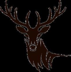 Deer Icon Sticker