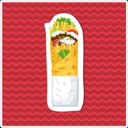 Delicious Gyros Sticker