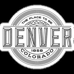 Denver, Colorado Sticker