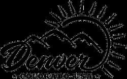 Denver Colorado USA Sticker