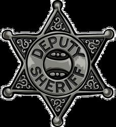Deputy Sheriff Badge Sticker