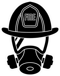 Detailed Fire Department Mask