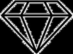 Diamond Icon Illustration Sticker