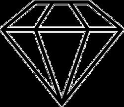 Diamond Icon Sticker