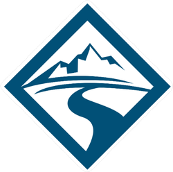 Diamond Mountain Road Logo Sticker