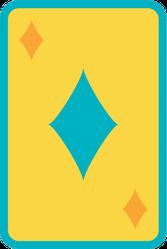 Diamond Playing Card Sticker