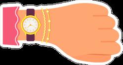 Diamond Wrist Watch Sticker