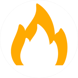 Dim Fire Sticker