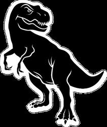 Dinosaur Silhouette Sticker