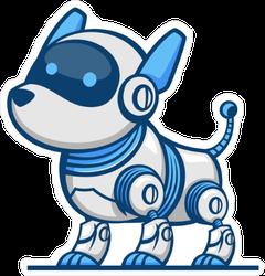 Dog Robot Sticker