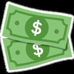 Dollar Bills US Sticker