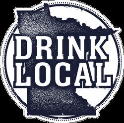 Drink Local Minnesota Sticker