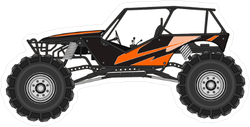 Dune Buggy in Profile Sticker