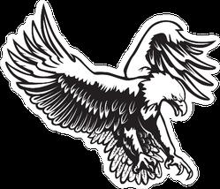 Eagle Emblem Sticker