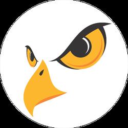Eagle Face Sticker