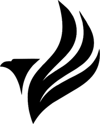 Eagle Logo Style Sticker