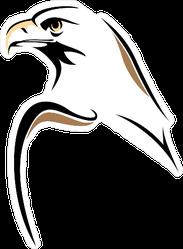 Eagle Minimalist Style Sticker