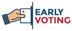 Early Voting 2020 Icon Sticker