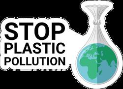 Stop Plastic Pollution Sticker