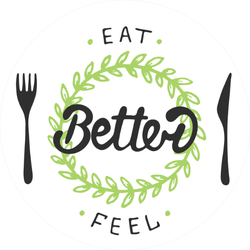 Eat Better Feel Better Sticker