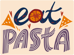 Eat Pasta Sticker