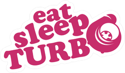 Eat Sleep Turbo JDM Sticker